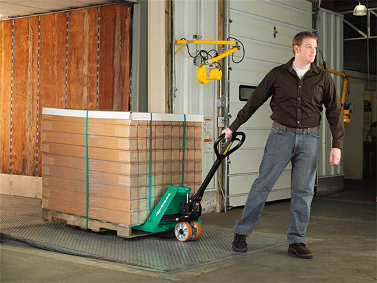 mitsubishi-pallet-jack-application