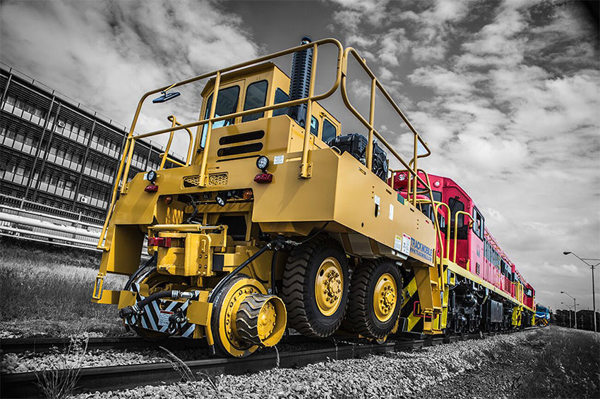 Trackmobile Railcar Movers Herculift